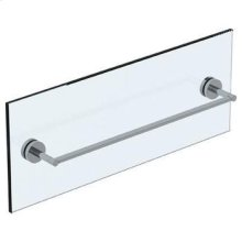 "Brooklyn 24"" Shower Door Pull / Glass Mount Towel Bar"