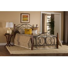 Milwaukee Wood Post Twin Bed