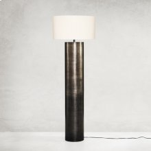 Ombre Antique Pewter Finish Cameron Ombre Floor Lamp