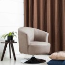 Twist Accent Chair in Steel Fabric Product Image