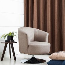 Twist Accent Chair in Steel Fabric