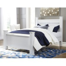 Jallory - White 3 Piece Bed Set (Queen)