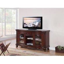 BROWN CHERRY TV STAND