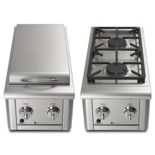 Performance Series Double Side Burner - 30,000 BTUs