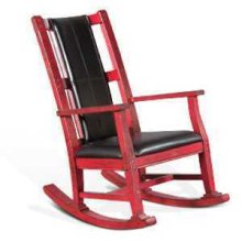 Rocker w/ Cushion Seat & Back
