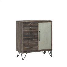 1-Door, 5-Drawer Cabinet
