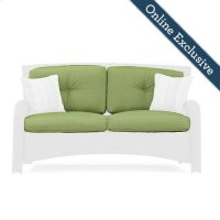 Sawyer Patio Loveseat Replacement Cushion, Cilantro Green Product Image