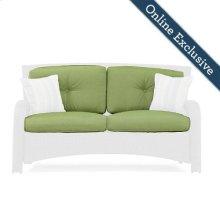 Sawyer Patio Loveseat Replacement Cushion, Cilantro Green