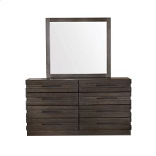 Stackhaus 8 Drawer Dresser in Dark Brown