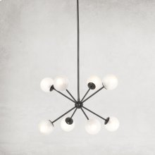Ansen Chandelier-dark Antique Brass