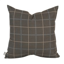 "20"" x 20"" Pillow Oxford Slate - Down Insert"