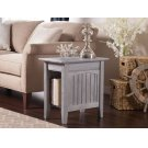 Nantucket Chair Side Table Driftwood Grey Product Image