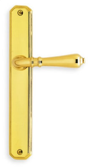 Traditional Narrow Plate Lever Latchset in (Traditional Narrow Plate Lever Latchset - Solid Brass) Product Image