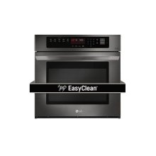 4.7 CU.FT. Black Stainless Steel Series Single Wall Oven With Easyclean®