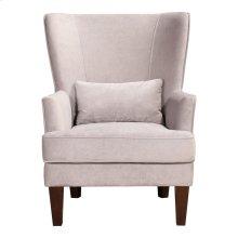 Prince Arm Chair Grey Velvet