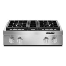 "Pro-Style® 30"" Gas Rangetop Stainless Steel"