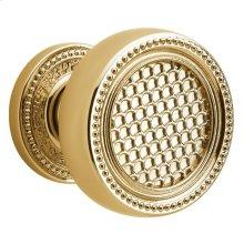 Lifetime Polished Brass K004 Estate Knob