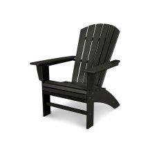 Black Nautical Curveback Adirondack Chair