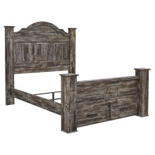 Lynnton - Rustic Brown 5 Piece Bed Set (Queen)
