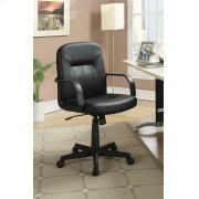 Contemporary Black Office Chair Product Image