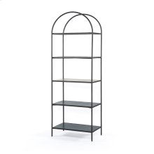 Noel Bookshelf-grey Gunmetal