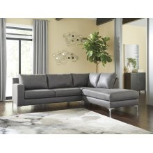 Ryler - Charcoal 2 Piece Sectional