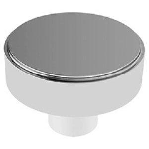 """Polished Brass Door knobs, 2 11/16"""" diameter"""