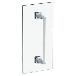 "H-line 18"" Shower Door Pull/ Glass Mount Towel Bar Product Image"