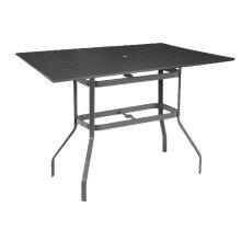 "42""x76"" Rectangular Balcony Table"