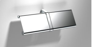 Chrome Toilet Roll Holder Double Product Image