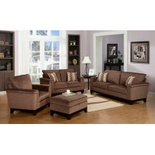 Opulence Brown Sofa