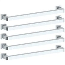 Rectangular Heated Towel Bar