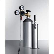 Tapping Equipment With Co2/nitrogen Tank To Serve Wine From Most Kegerators