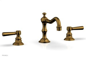 HENRI Widespread Faucet - Lever Handles 161-02 - French Brass Product Image