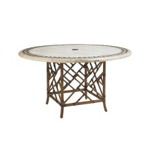 Dining Table W/Stone Top
