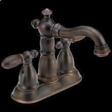 Venetian Bronze Two Handle Centerset Bathroom Faucet
