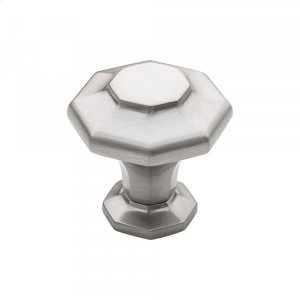 Palazzo Knob 1 3/16 Inch Brushed Satin Nickel Product Image