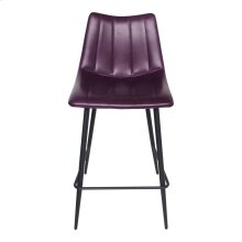 Alibi Counter Stool Purple-m2