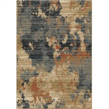 "8233 5X8 High Plains Blue 5'3""x7'6"" Adagio"