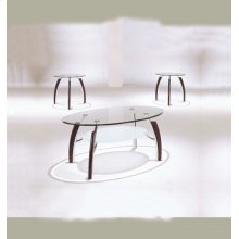 MARTINI 3PC COFFEE/END TABLE