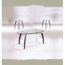 MARTINI 3PC COFFEE/END TABLE