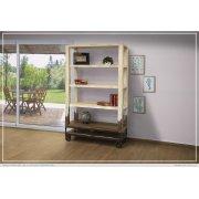 """70"""" Bookcase, White finish Product Image"""