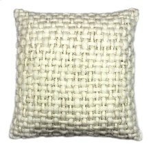 Cozy Feather Cushion White 20x20