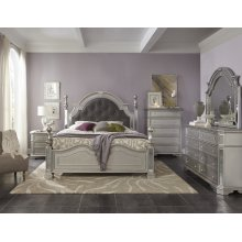 Kendall Vanity Table with Tri-Fold Mirror