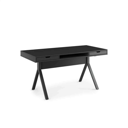 Desk 6341 in Charcoal Stained Ash