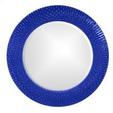 Bergman Mirror - Glossy Royal Blue