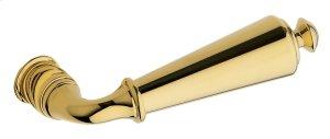 Lifetime Polished Brass 5125 Estate Lever Product Image