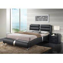 Azure Black Bedroom Set
