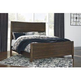 Kisper - Brown 3 Piece Bed Set (Cal King)