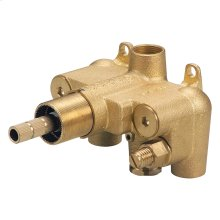 "Rough Brass Single Handle 3/4"" Thermostatic Shower Valve"